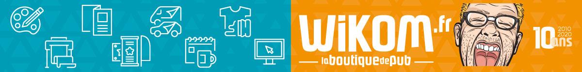 Banderole Studio Wikom - Publicité tous Supports : Impression Graphique, Web, Signalétique, Marquage Textile, Marquage Véhicule, Objets Publicitaires.