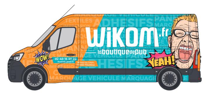 Adesivo di marcatura del veicolo